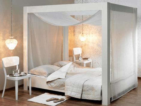 Hemelbed In Slaapkamer : Zelfmaakidee hemelbed bedden voor femke hemelbed