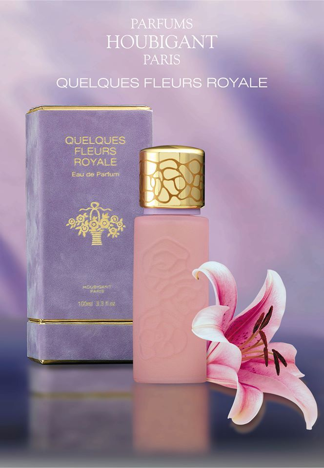 Quelques Fleurs Royale Parfums Houbigant Paris Blended Precious