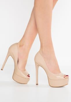 Buffalo - Peep toes - nude