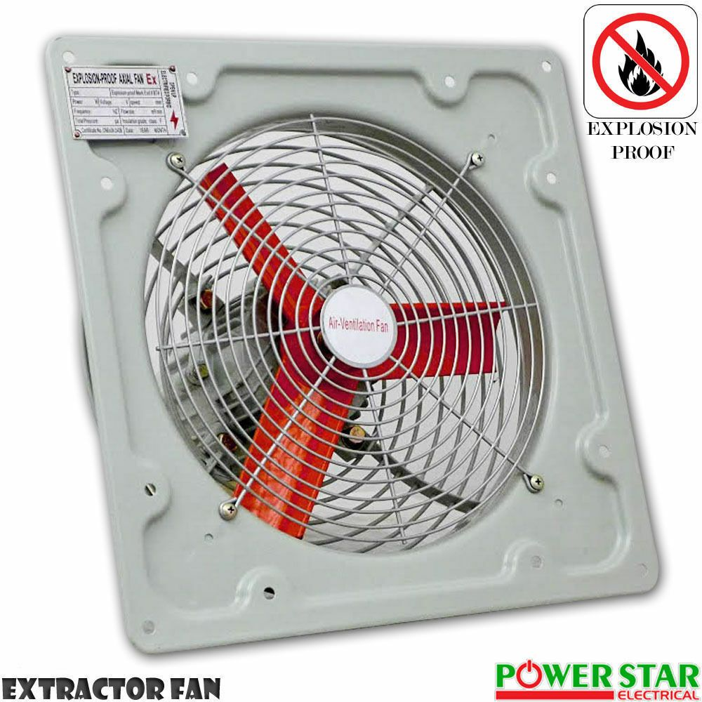 Details About New Fan Industrial Commercial Metal Axial Extractor