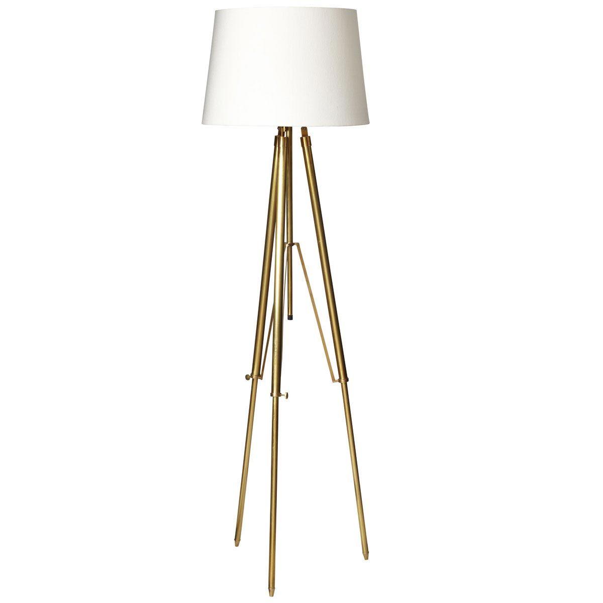 Adjustable Tripod Floor Lamp Brass Chrome Floor Lamps Tripod Lamp Brass Floor Lamp