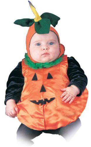 Unique Newborn Baby Pumpkin Costume (0-3 Months) | Halloween ...
