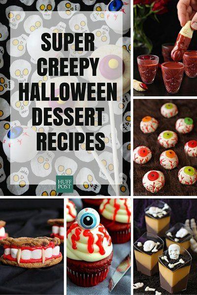 The Creepiest, Scariest Dessert Recipes Your Halloween Needs - halloween dessert ideas