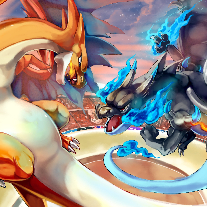 CHOOSE YOUR SIZE FREE P+P Pokemon Poster Pokemon GO Lucario vs Brasegali COOL