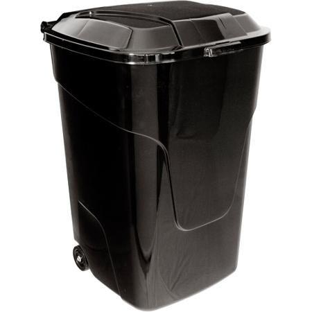 Ecoark 45 Gallon Wheeled Trash Can Trash Can Garbage Bin