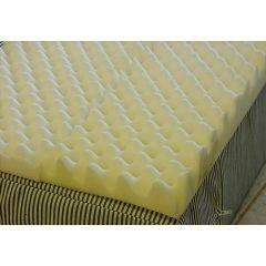 Foam Eggcrate Mattress Overlay Size Full 50 Quot X 72 Quot X 2