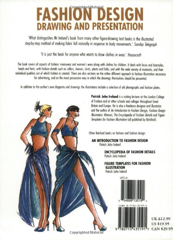 Fashion Design Drawing And Presentation Patrick John Ireland 9780713435191 Amazon Com Books Fashion Design Drawing Designs To Draw Drawings