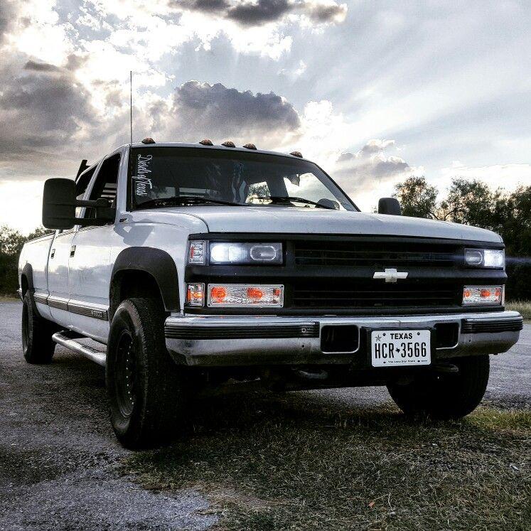 My 96 Chevy Silverado 3500 6 5 Turbo Diesel Carrizo Springs Tx