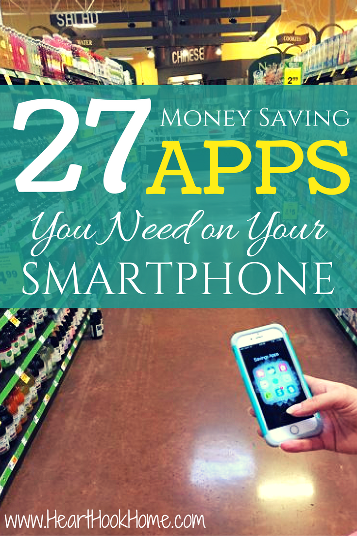 27 Must Have Money Saving Smartphone Apps Money saving