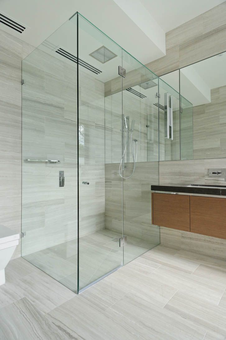 Image result for glass shower screen