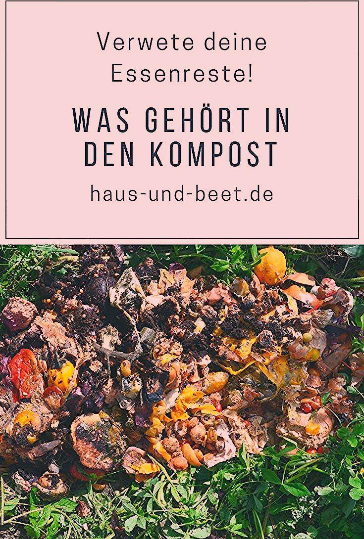 Was gehört in den Kompost und in den Bokashi Eimer? - Haus und Beet