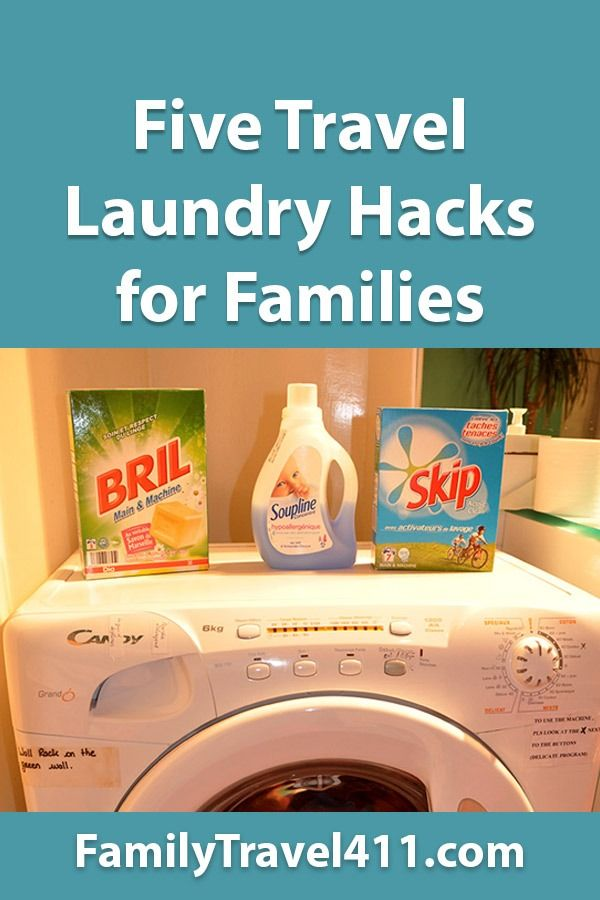 Five Travel Laundry Hacks for Families  Family Travel 411 Five travel laundry hacks for families