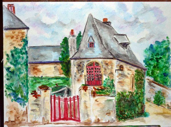 Dessin Crayon Aquarelle Paysage Breton Loisirs Et Culture De La