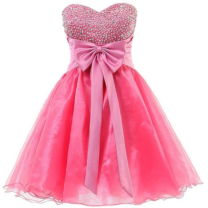 Dresstells Sweetheart Organza Short Prom Cocktail Patry Dress For