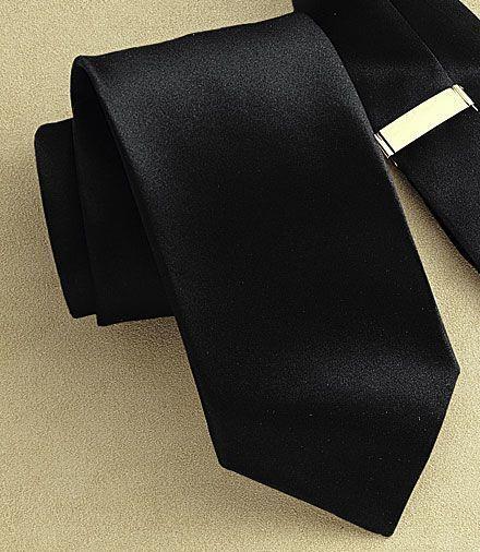 Black Formal Tie at Jos. A. Bank - Men's Fashion