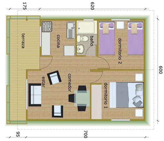 Casa de madera bungalows caba as buscar con google for Planos de cabanas campestres