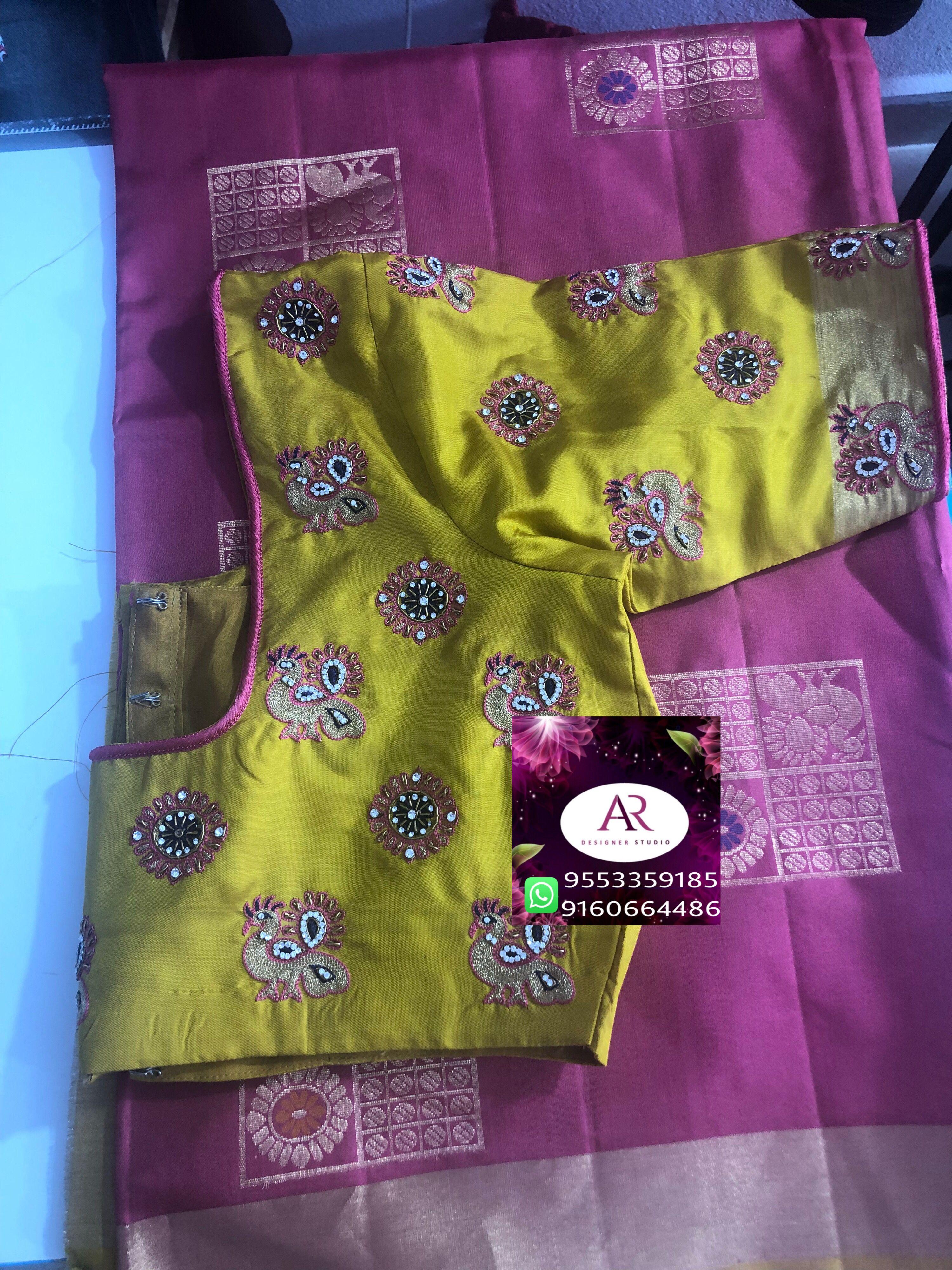 3 4 sleeve silk saree blouse designs pin by vijaya katipogu on blouse in   pinterest  blouse