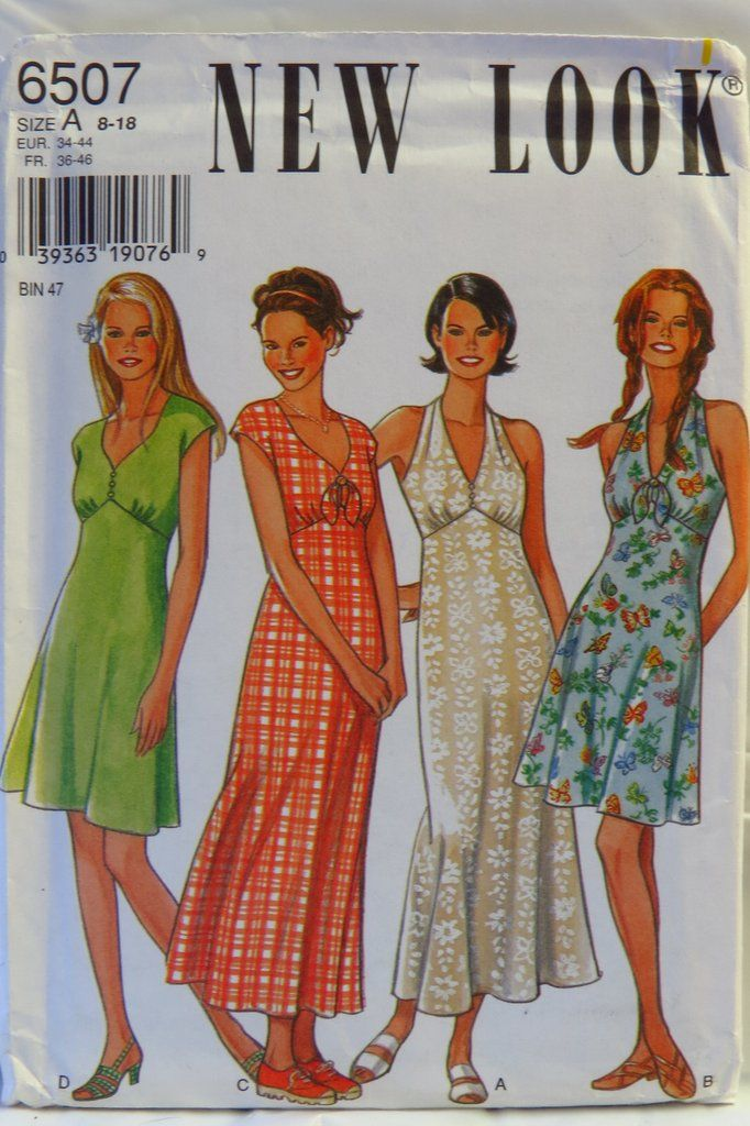 04a699a91fd New Look 6507 Misses  Dresses in 2018