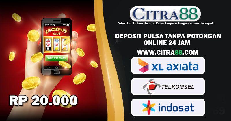 Deposit Pulsa Tanpa Potongan Rate Tertinggi 24 Jam Mainan Permainan Kartu Poker