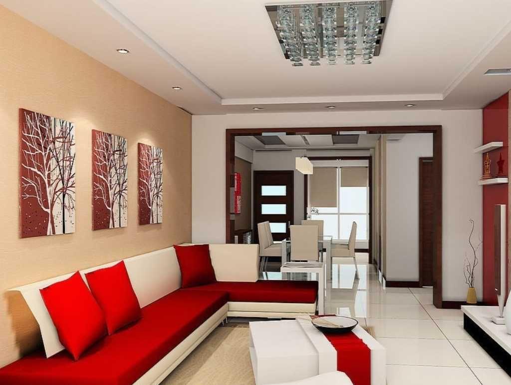 Desain Dekorasi Ruang Tamu Berbentuk L Red Sofa Living Room Minimalist Living Room Modern Minimalist Living Room L living room designs