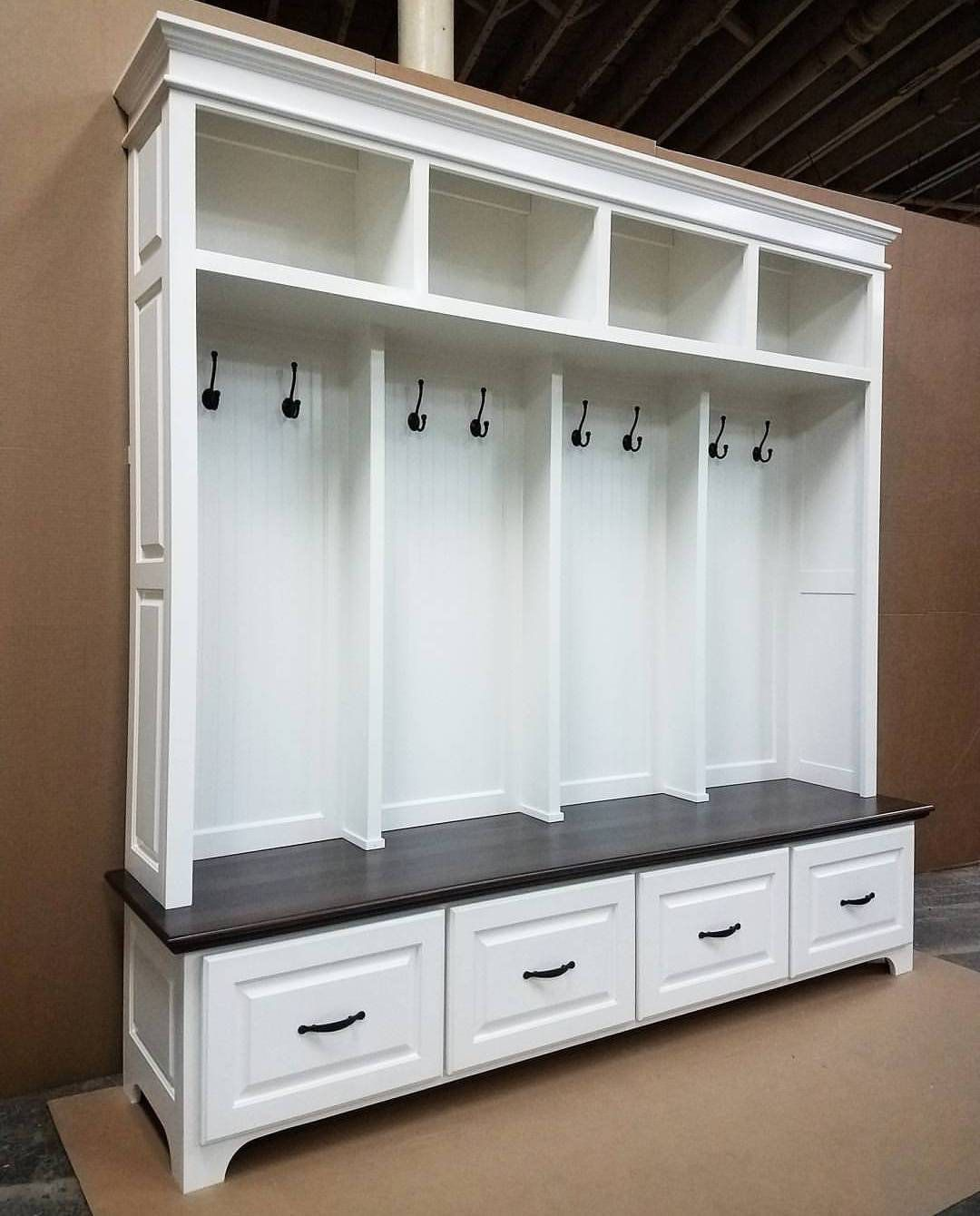 The Williamsburg Mudroom Bench Lockers Cubbies Storage Etsy Cubby Storage Mudroom Lockers Mudroom Bench