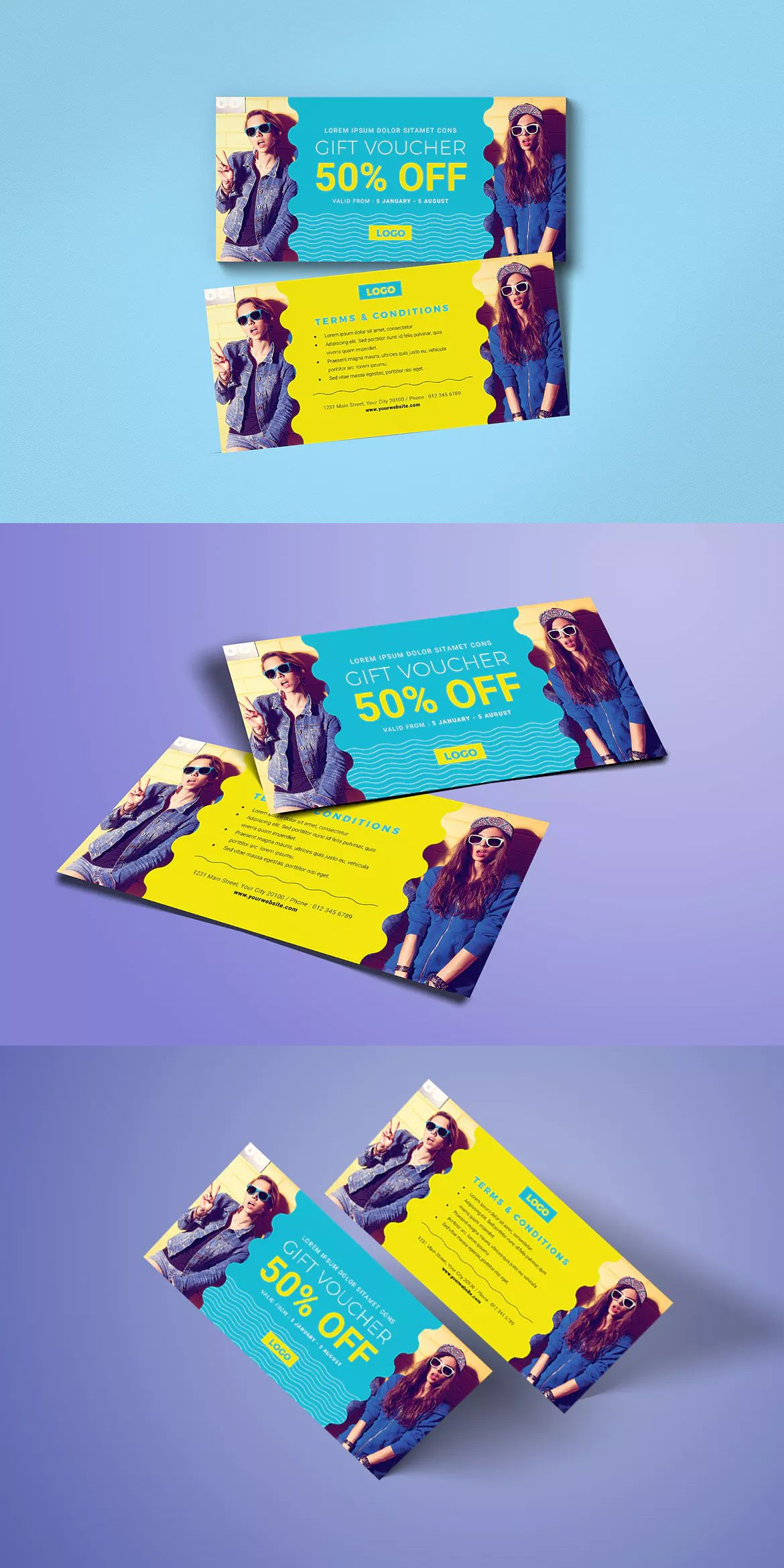 Fashion gift voucher template ai psd cm hng pinterest fashion gift voucher template ai psd xflitez Choice Image