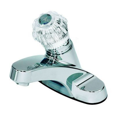 Aqueous Faucet Single Handle Centerset Metering Bathroom Faucet ...