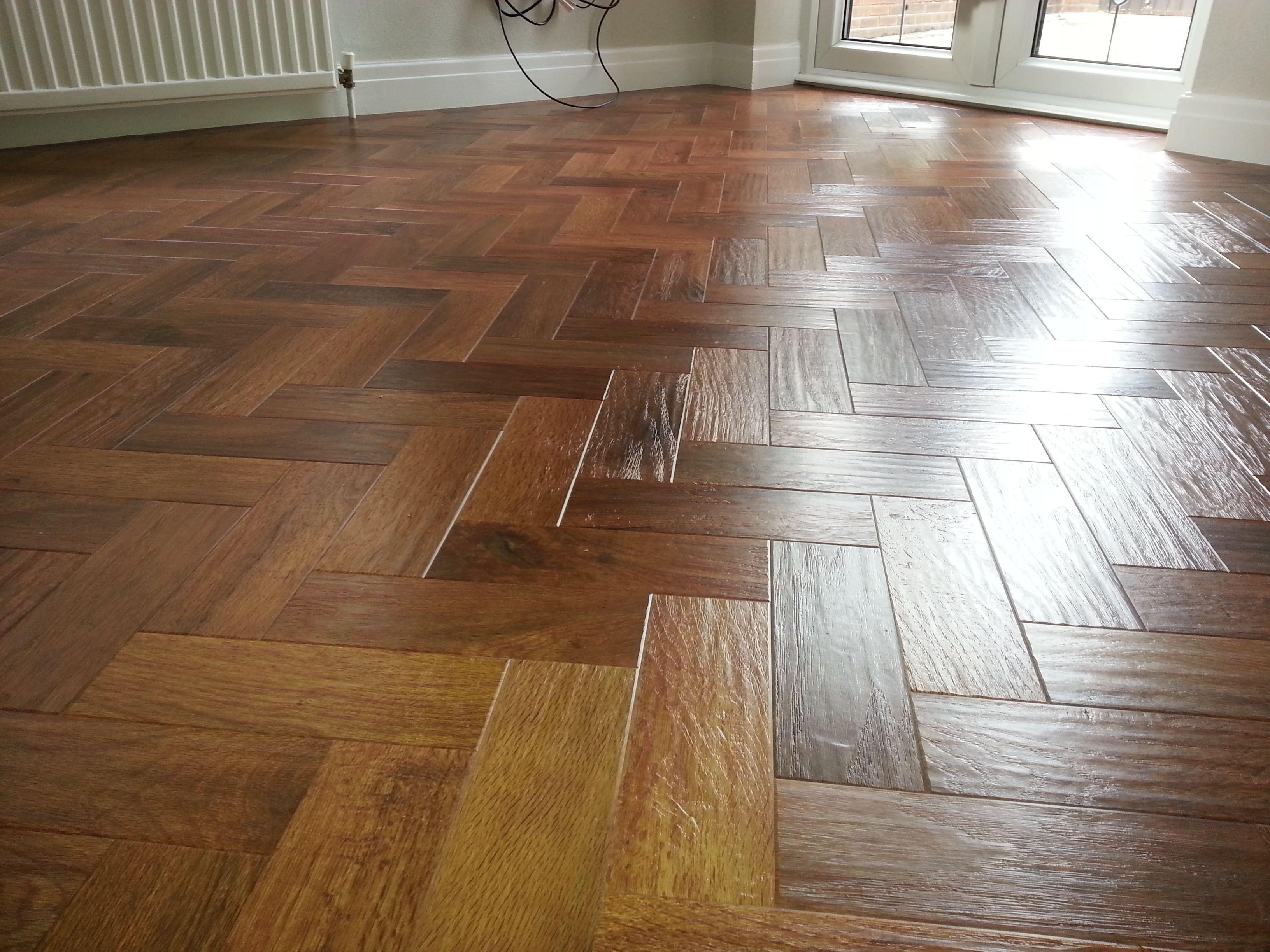 Karndean Herringbone Flooring