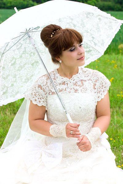 Hochzeitskleid-für-mollige-Braut.jpg (400×600)   Braut ...