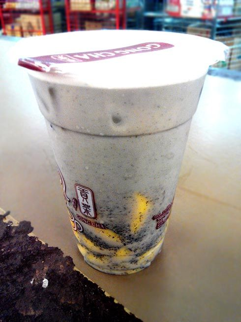 Image result for black sesame milk