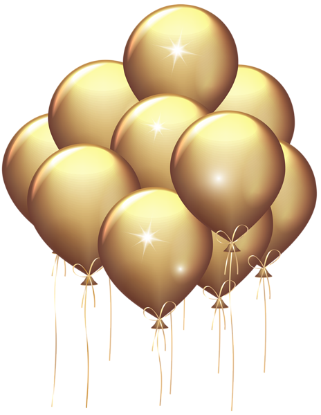 Ballons Png Tube Gold Balloons Balloons Silver Balloon