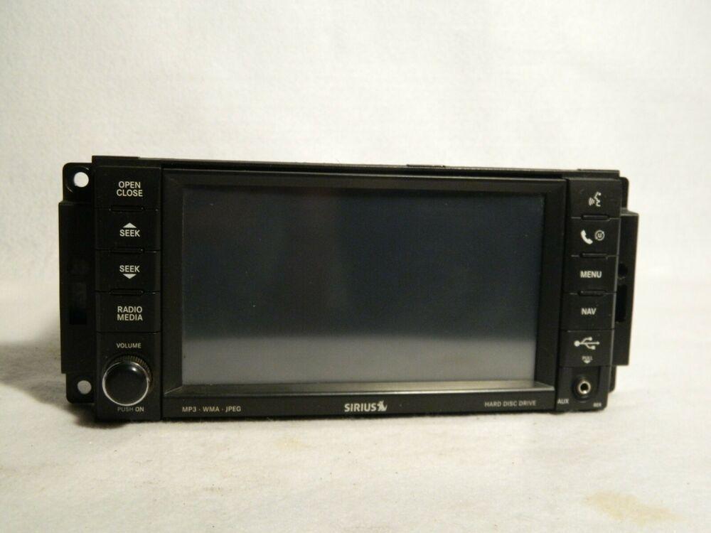 2010 Jeep Grand Cherokee Navigation Dvd Player Radio Rer Oem