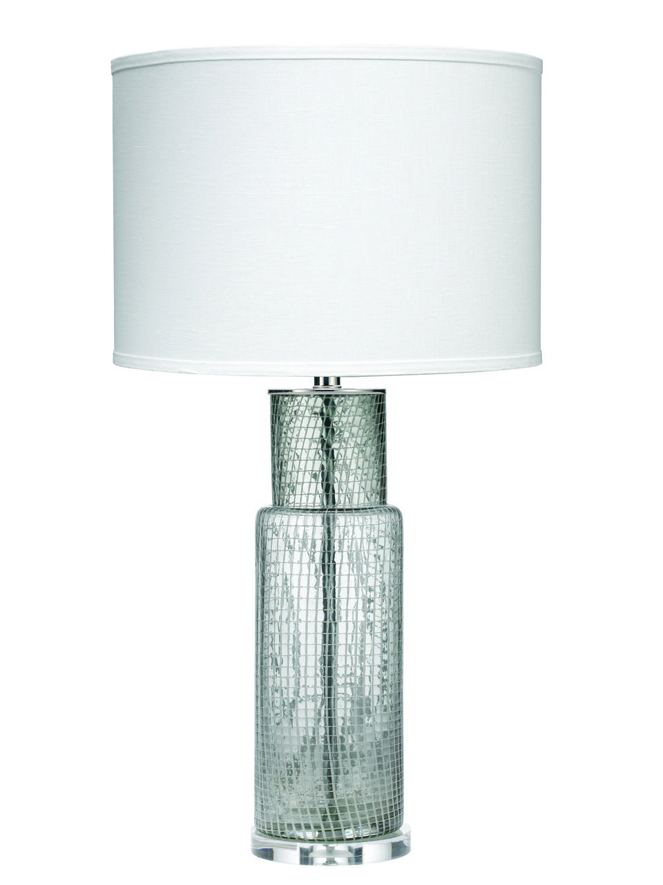 Jamie Young Atwater Table Lamp Clear Netted Glass Table Lamp