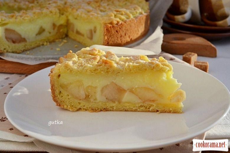рецепт пиріг з яблуками рецепт з фото