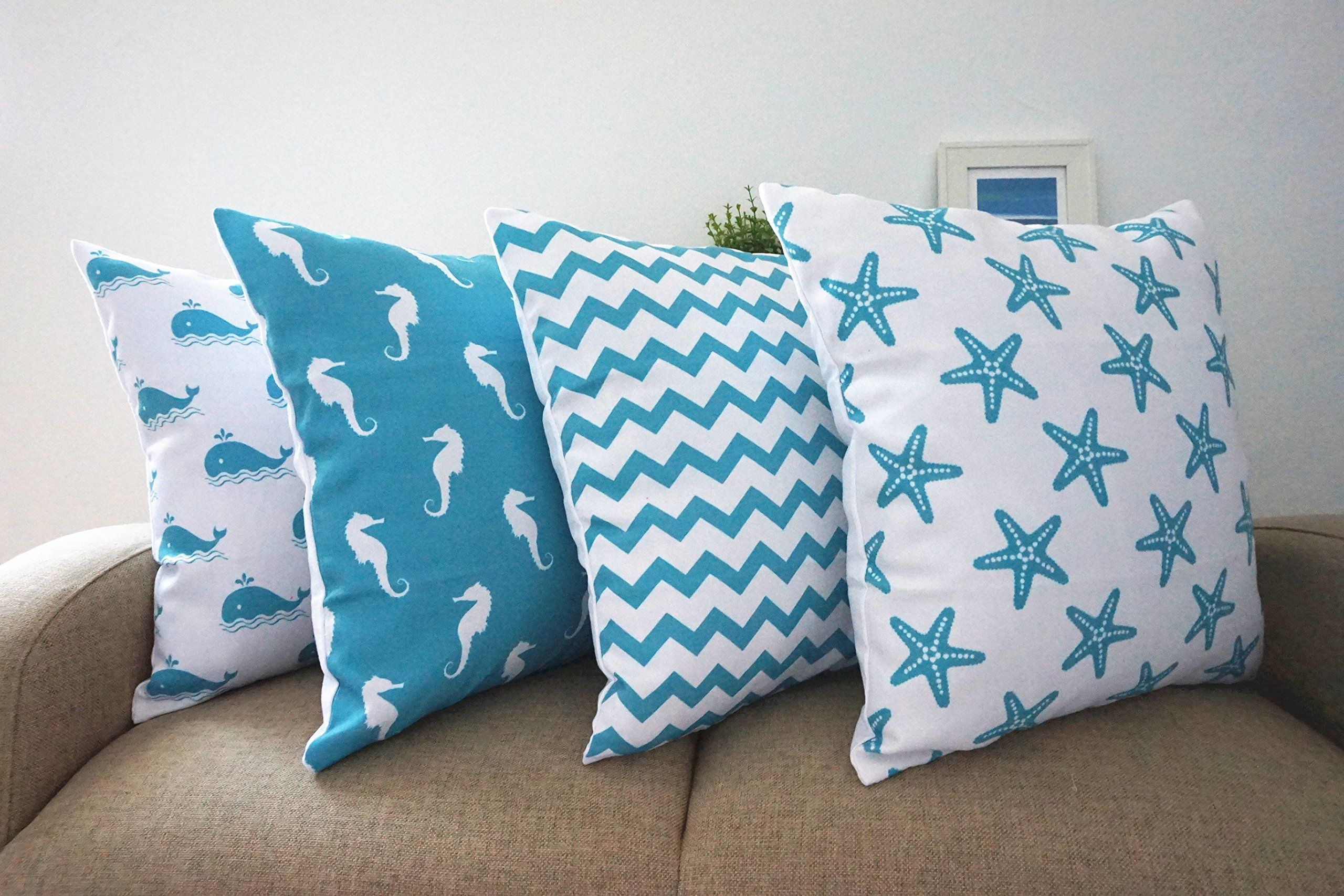beach diy stitches doodles pillow easy pillows