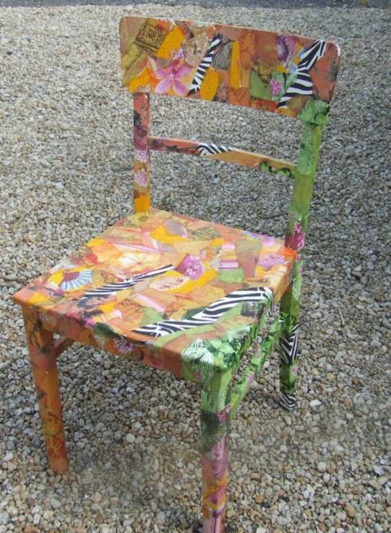 Sessel Neu Beziehen Decoupage That Chest, Decoupage Stepstool...find Some Cool