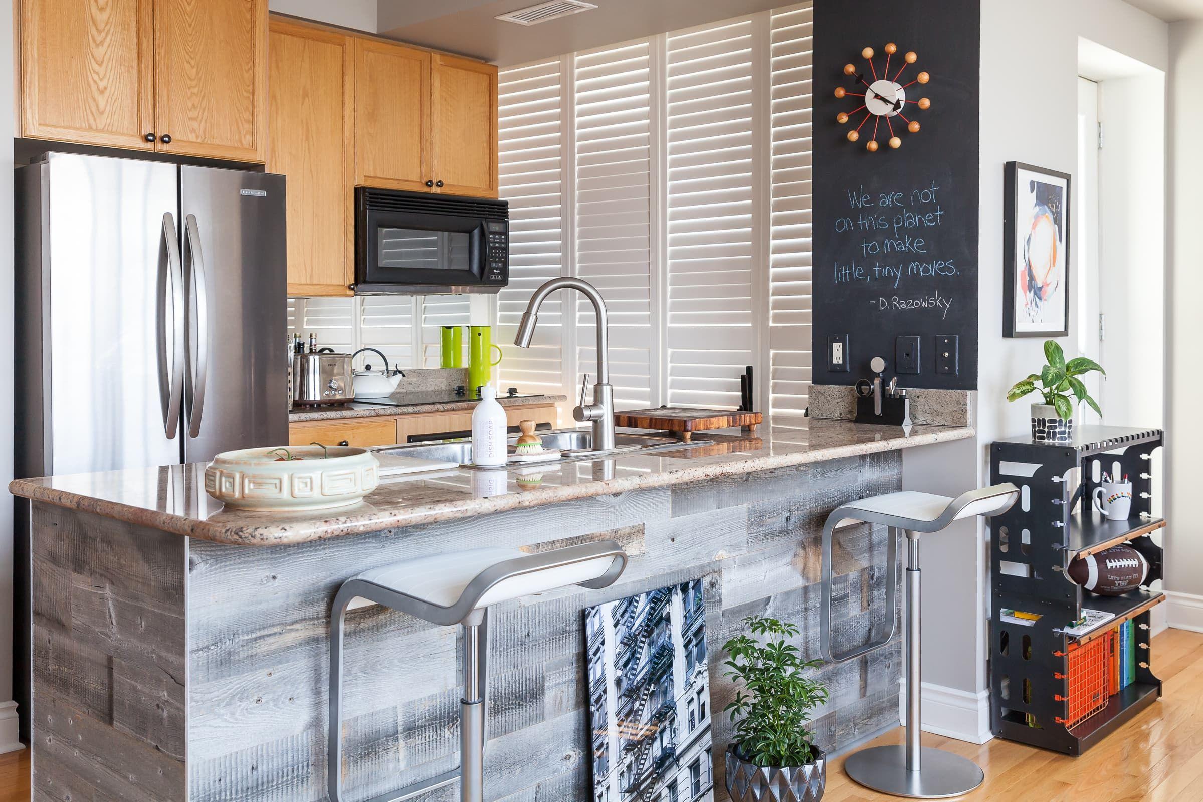 A Light & Bright Modern Toronto Condo | Kitchen decor, Zen ...