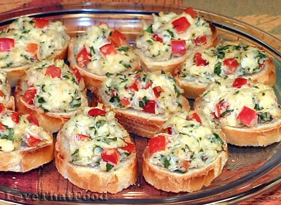 Cold Finger Foods On Pinterest Room Temperature Appetizers Cold Crostini Recipes Recipes Food