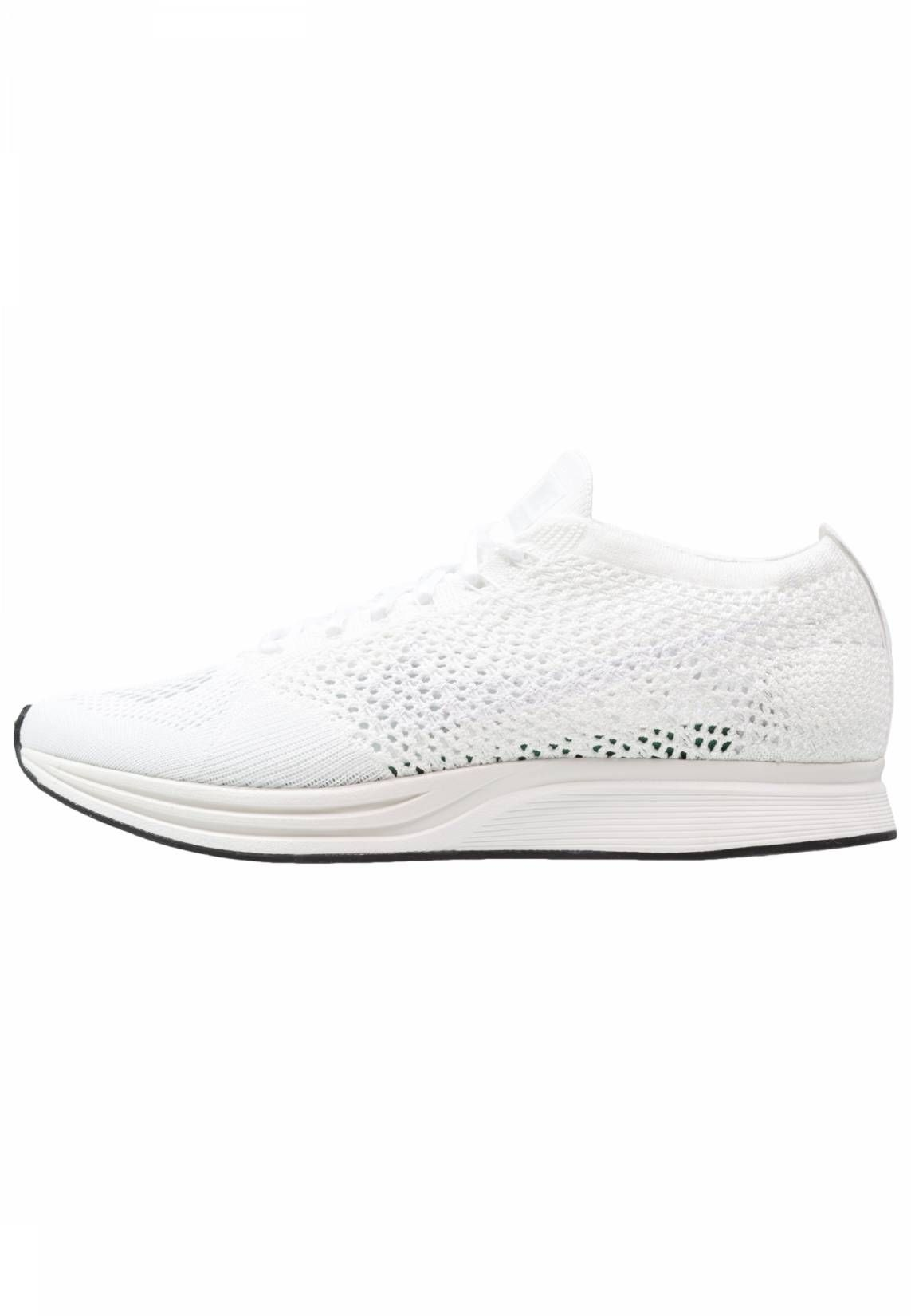 the latest 663e2 2cd93 Nike Performance. FLYKNIT RACER - Trainers - white sail pure platinum.  Pattern