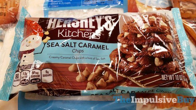 Hershey's Kitchens Sea Salt Caramel Chips