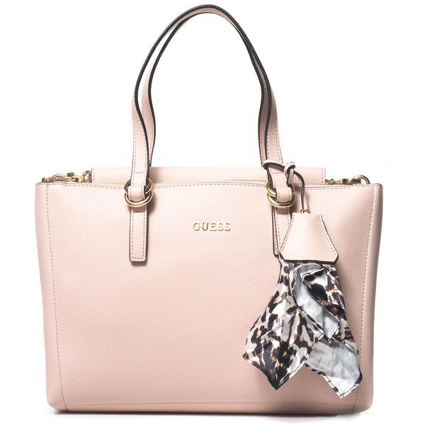Guess Big rectangular bag ($97) ❤ liked on