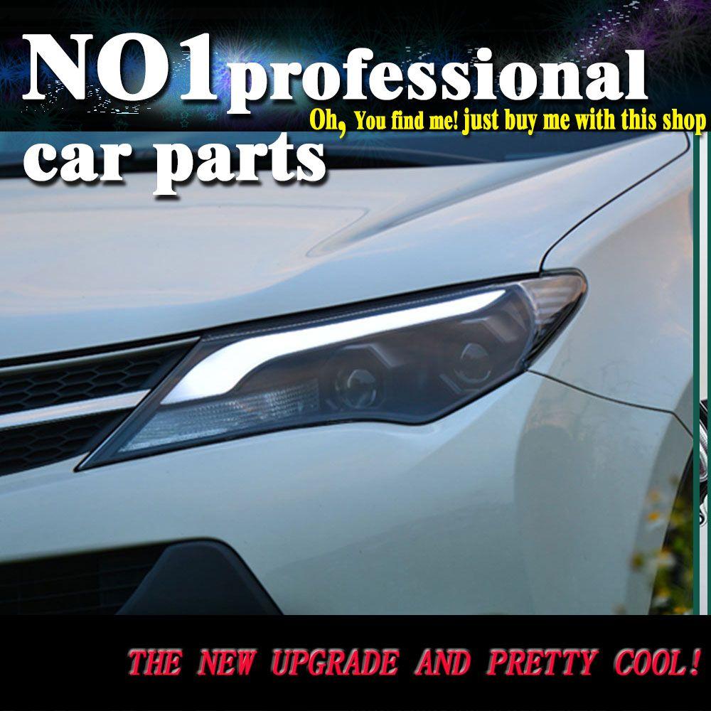 Car Styling Head Lamp 2014 2015 For Toyota Rav4 Headlights Led