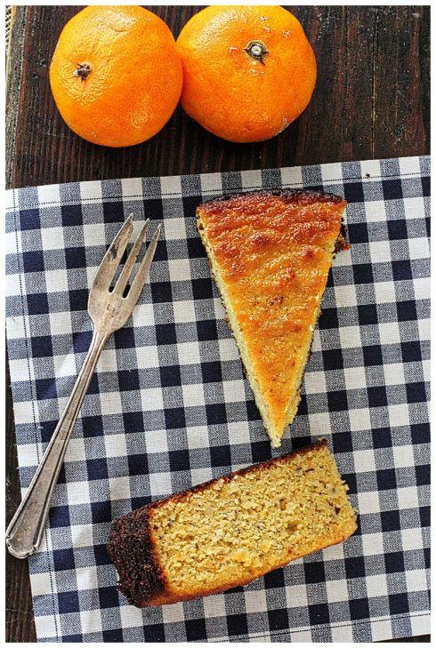 Torta de Mandarina y Almendras // almond clementine cake