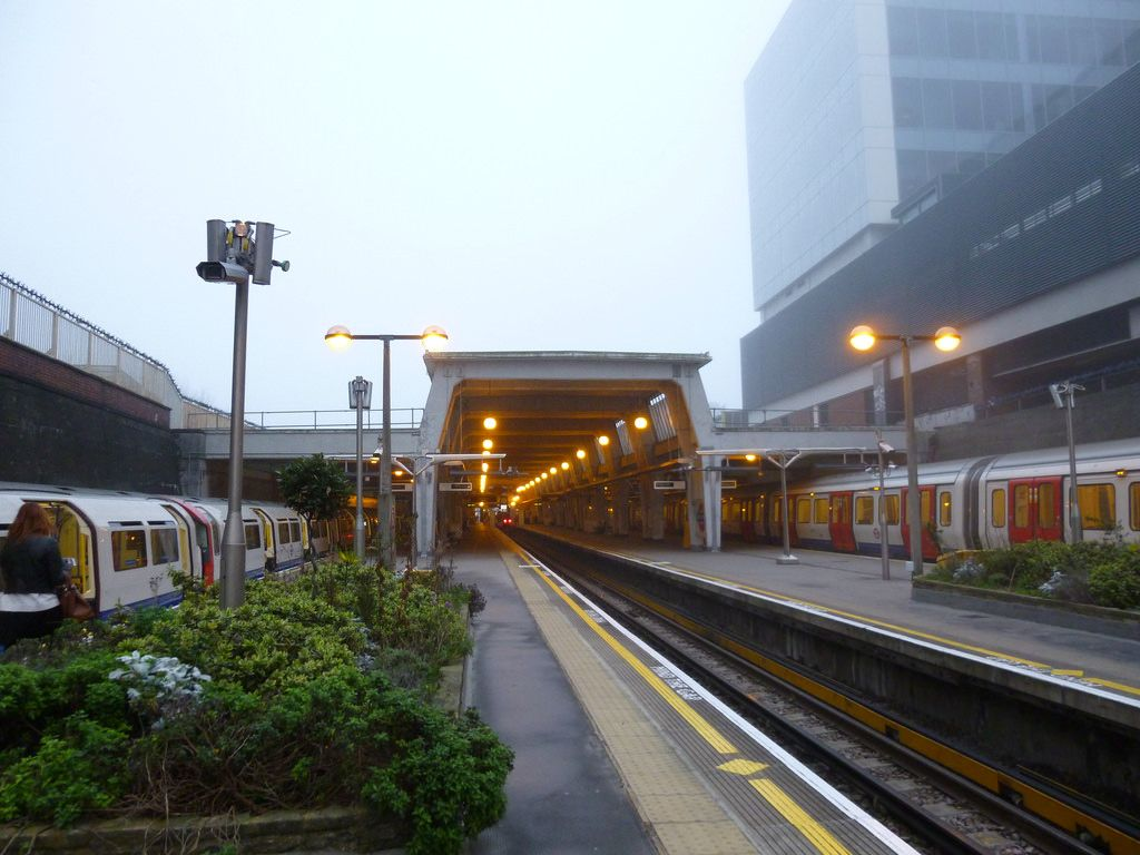 Foggy Uxbridge Station