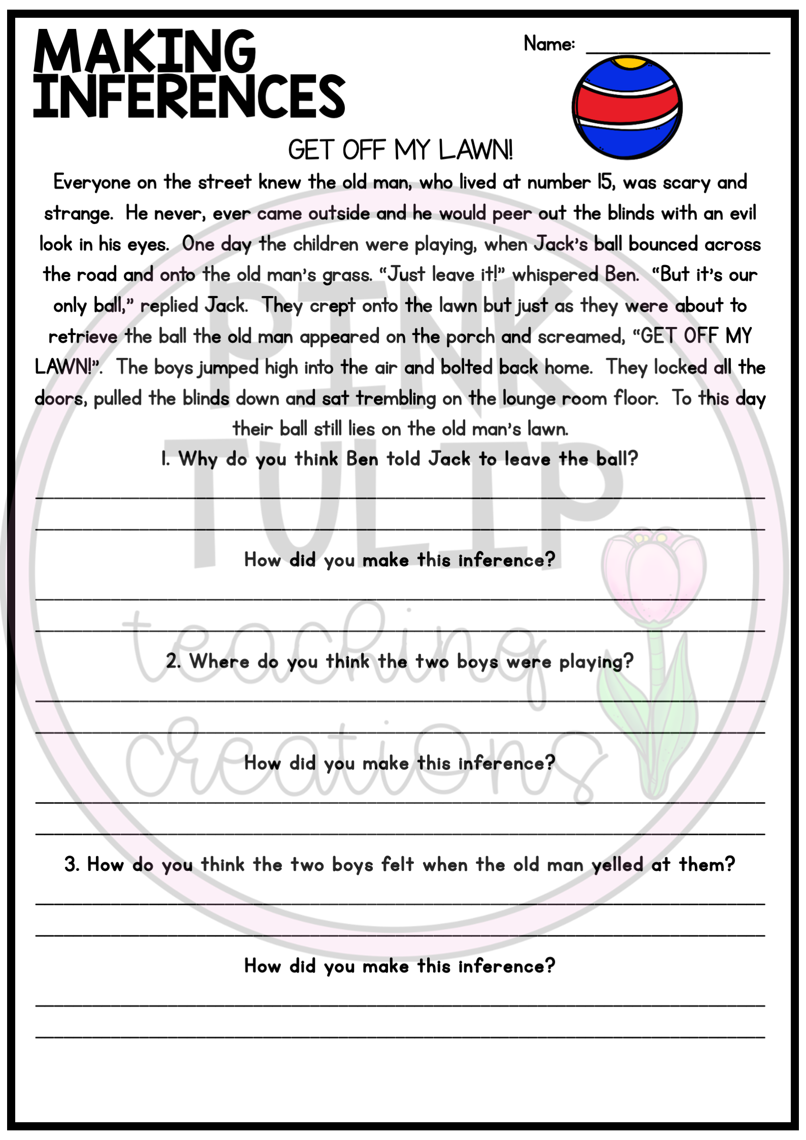 Making Inferences And Drawing Conclusions Reading Worksheet Pack Reading Worksheets Reading Comprehension Resources Reading Passages [ 2249 x 1589 Pixel ]
