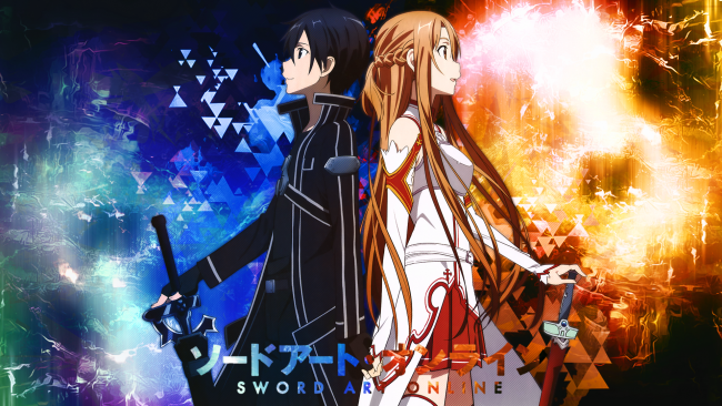 Wallpaper Kirito X Asuna Sword Art Online Couple Wallpaper Anime Sword Art Online Kirigay In 2020 Sword Art Online Wallpaper Sword Art Online Anime Wallpaper Download