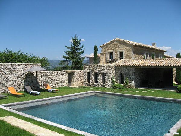 Belle #maison en #pierre avec #piscine    wwwm-habitatfr plans - location maison avec piscine dans le var