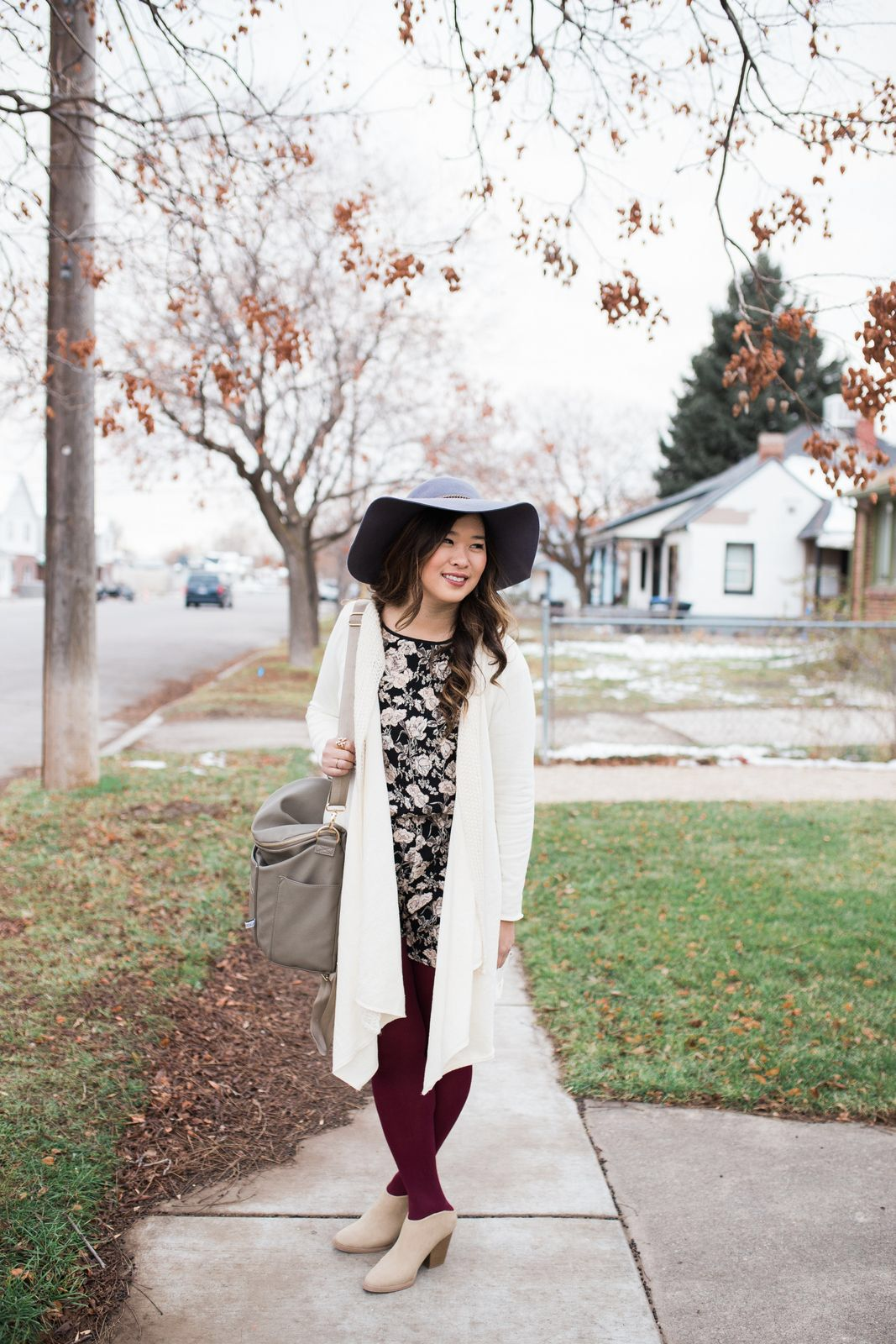 444ddbf392557 Short Rompers For Winter and Stylish Mules + $100 Payless Shoes Giveaway!
