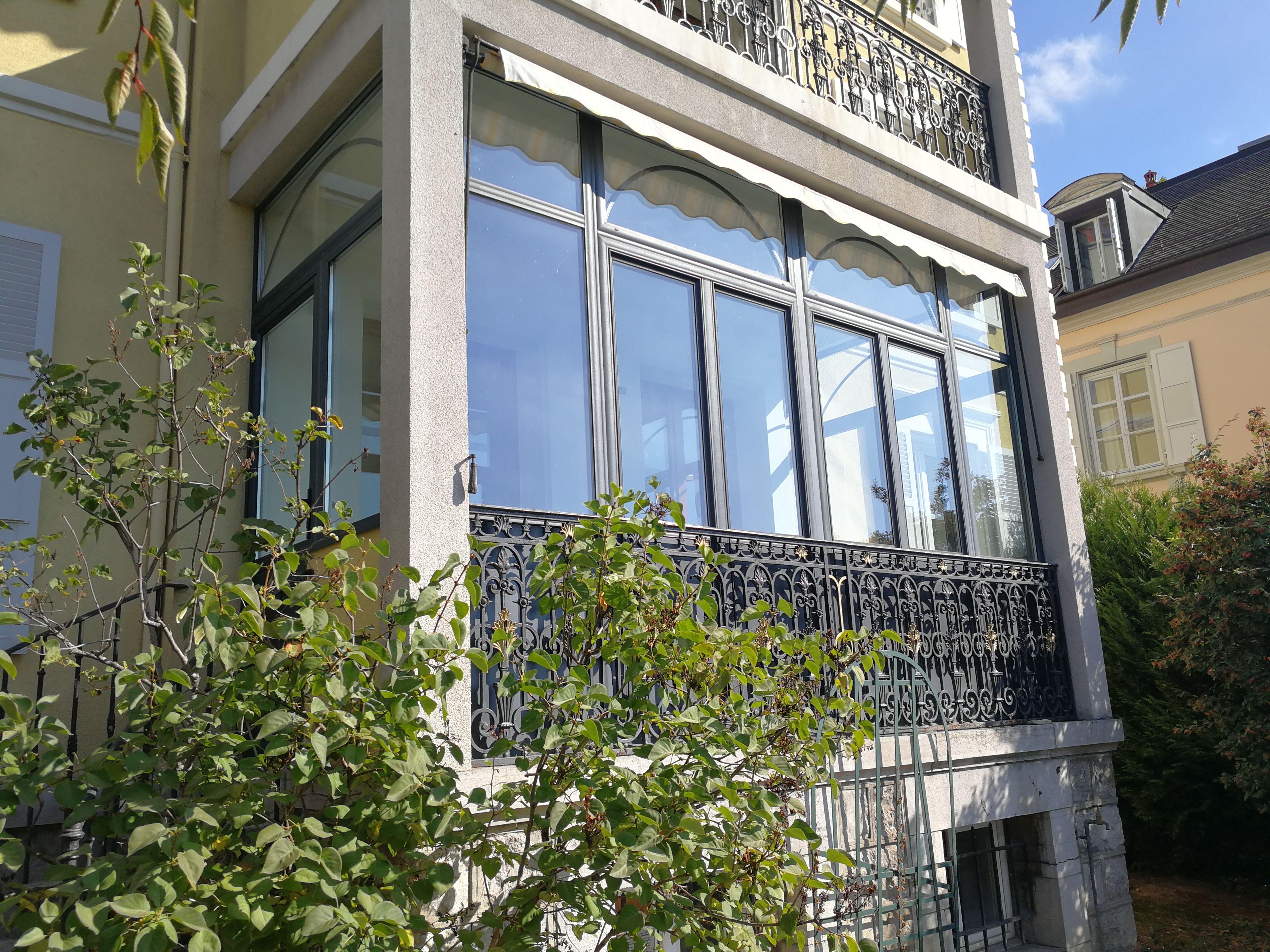 Fermeture De Balcon Pour Gagner Plus D Espace Balcon Bois Verre Verenda