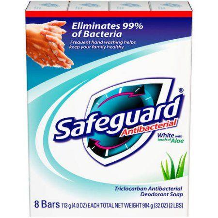 Safeguard White With Aloe Bar Soap 4 Oz 8 Ct Multicolor